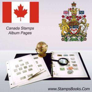 Canada Stamps Album