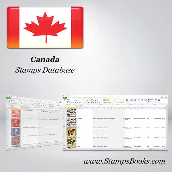 Canada Stamps dataBase