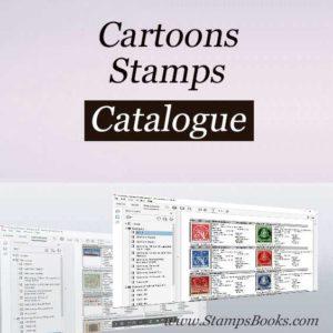 Cartoons stamps