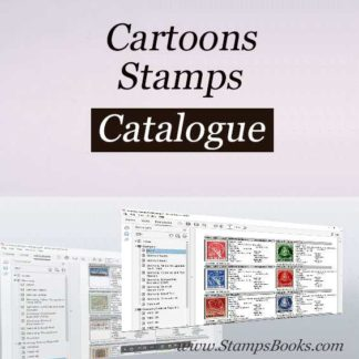 Cartoons briefmarken