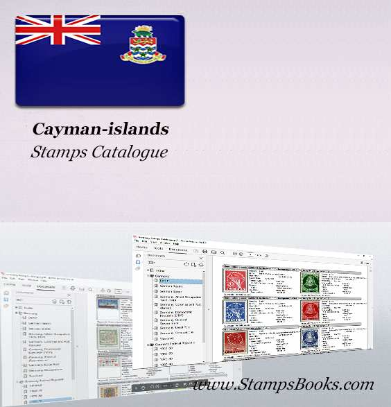 Cayman islands Stamps Catalogue