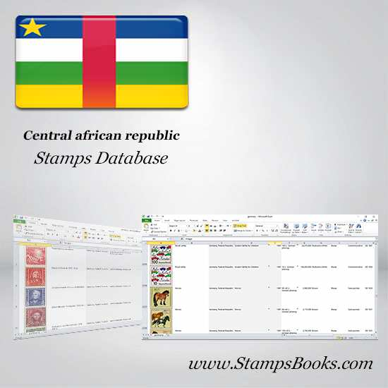Central african republic Stamps dataBase