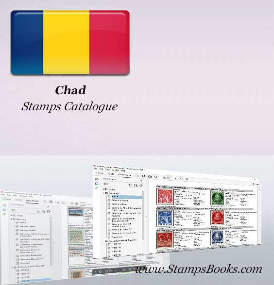 Chad Stamps Catalogue