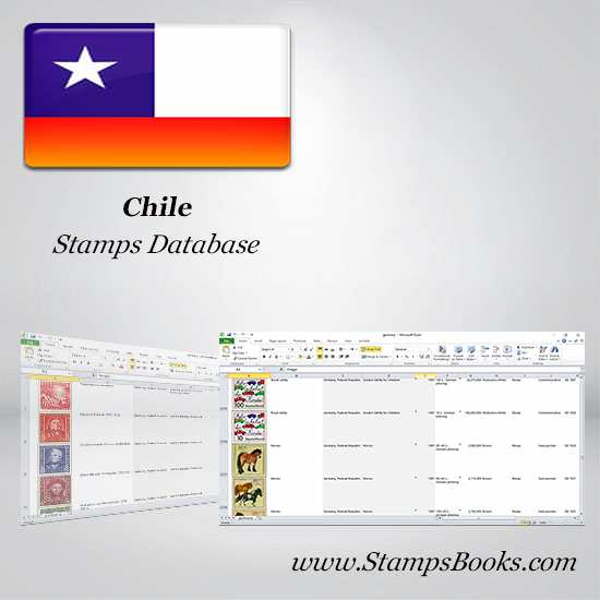 Chile Stamps dataBase