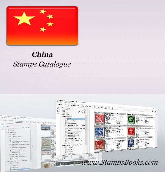 china stamp catalogue stampsbooks. Black Bedroom Furniture Sets. Home Design Ideas