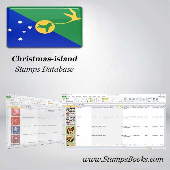 Christmas island Stamps dataBase