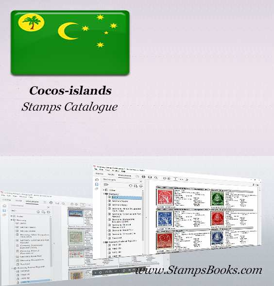 Cocos islands Stamps Catalogue