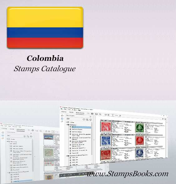Colombia Stamps Catalogue