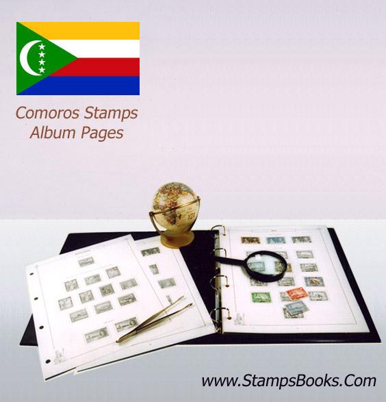 Comoros stamps
