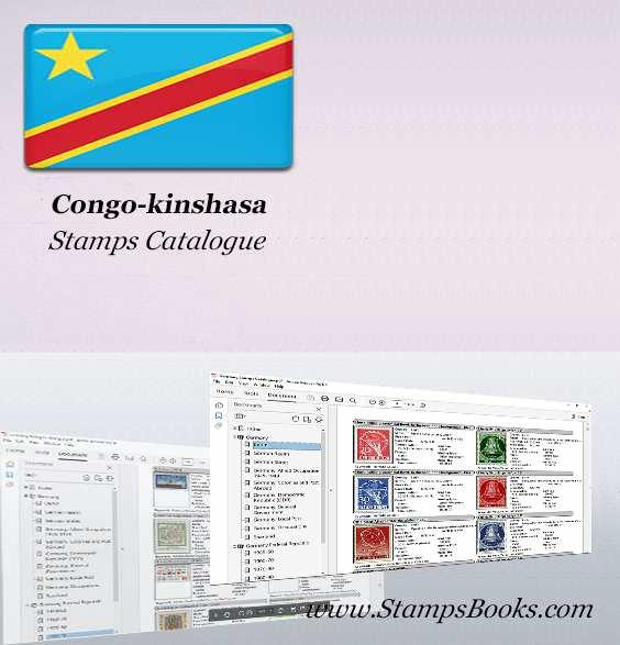 Congo kinshasa Stamps Catalogue