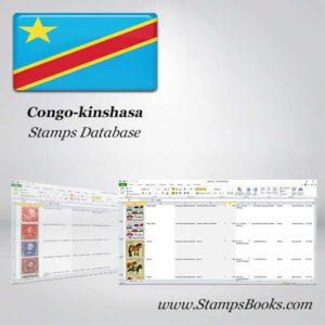 Congo kinshasa Stamps dataBase