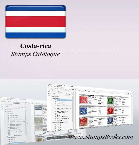 Costa rica Stamps Catalogue