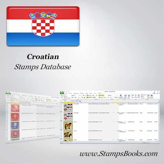 Croatian Stamps dataBase