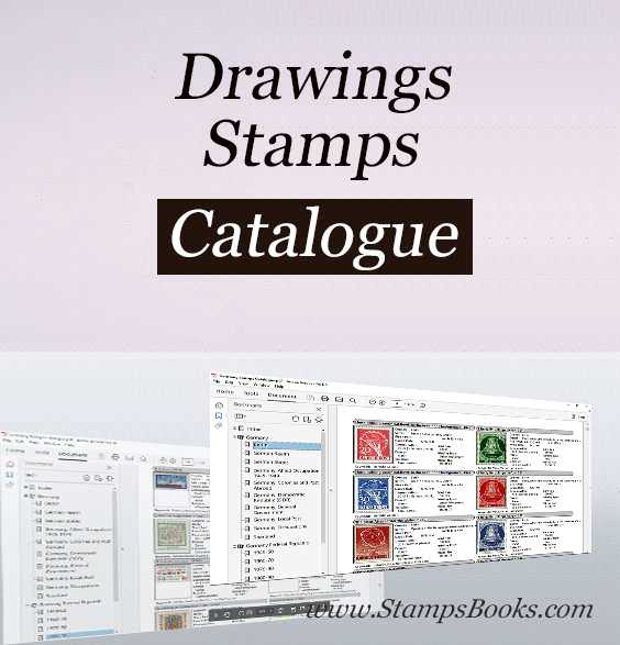 Drawings stamps