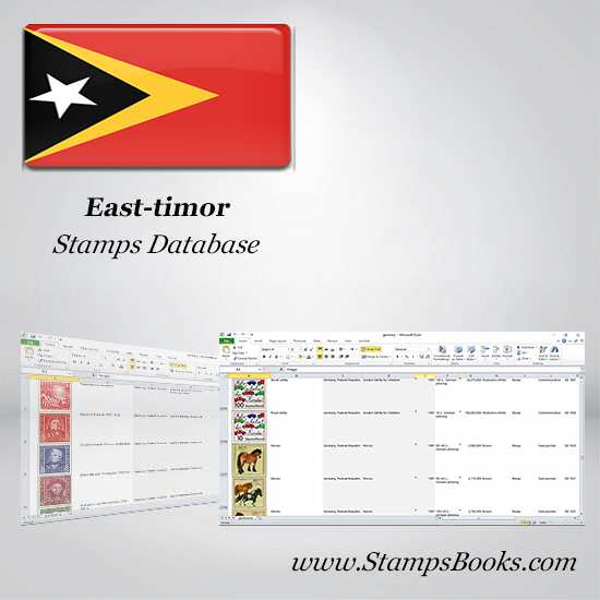 East timor Stamps dataBase