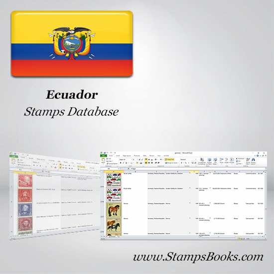 Ecuador Stamps dataBase
