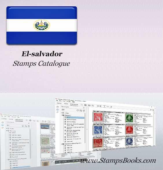 El salvador Stamps Catalogue