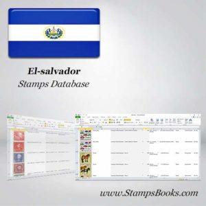 El salvador Stamps dataBase