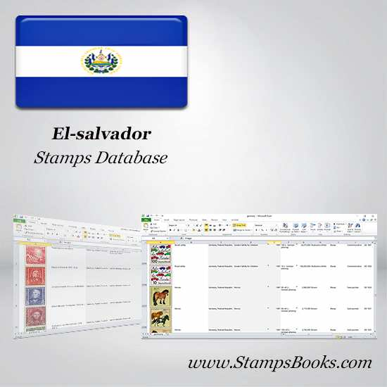 El salvador Stamps dataBase