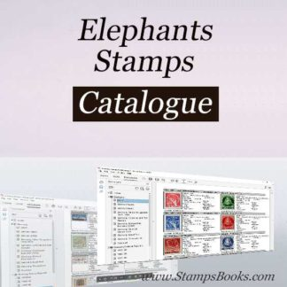 Elephants stamps