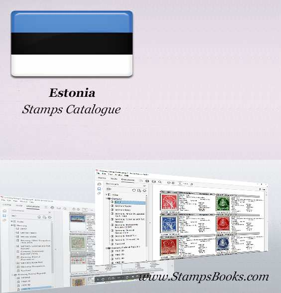 Estonia Stamps Catalogue