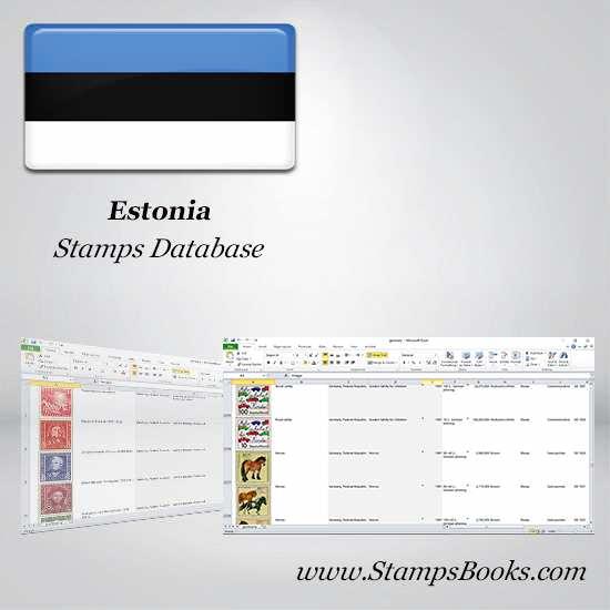 Estonia Stamps dataBase
