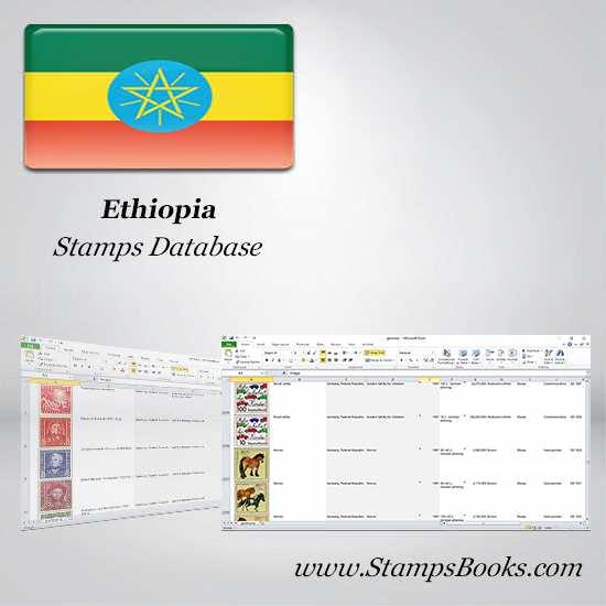 Ethiopia Stamps dataBase