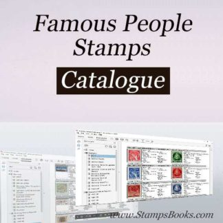 Famous People stamps
