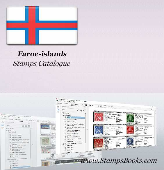 Faroe islands Stamps Catalogue