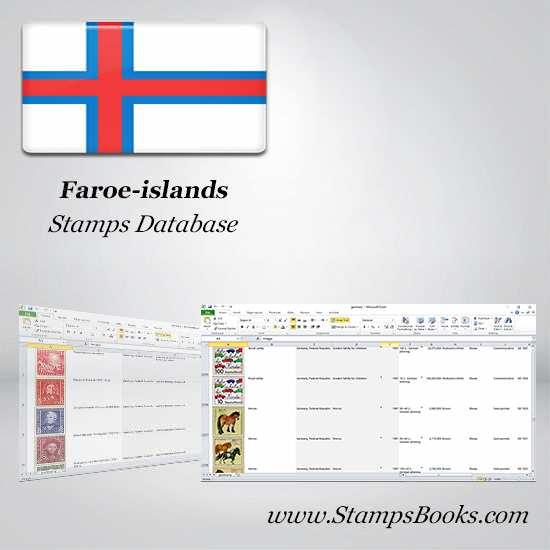 Faroe islands Stamps dataBase
