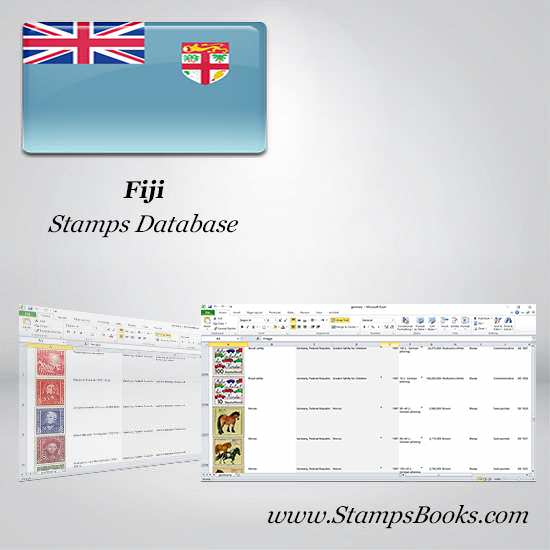 Fiji Stamps dataBase