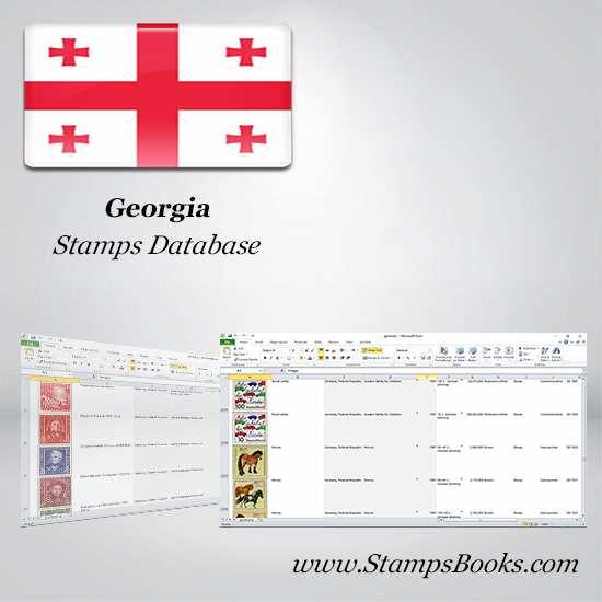 Georgia Stamps dataBase