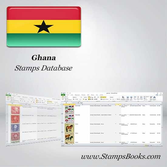 Ghana Stamps dataBase