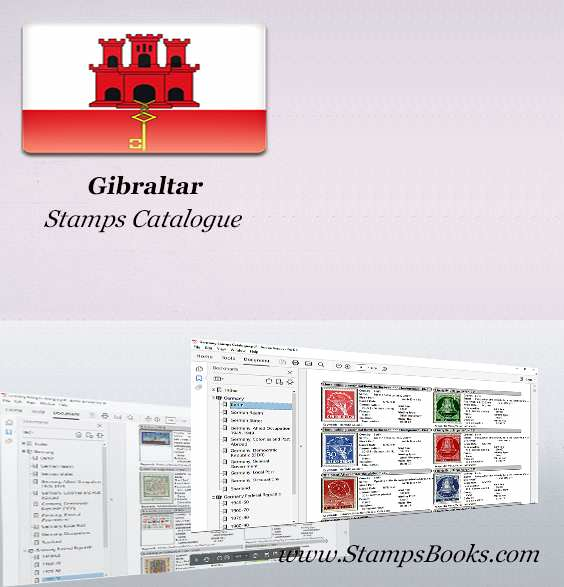 Gibraltar Stamps Catalogue