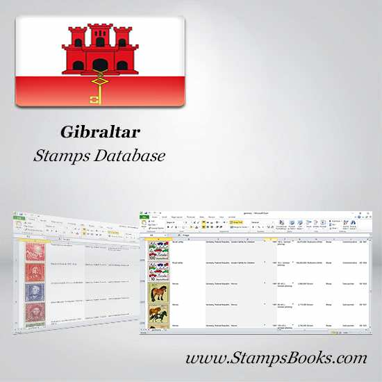 Gibraltar Stamps dataBase