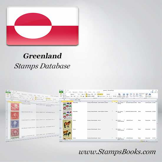 Greenland Stamps dataBase