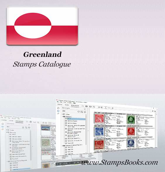 Greenland stamps Catalogue