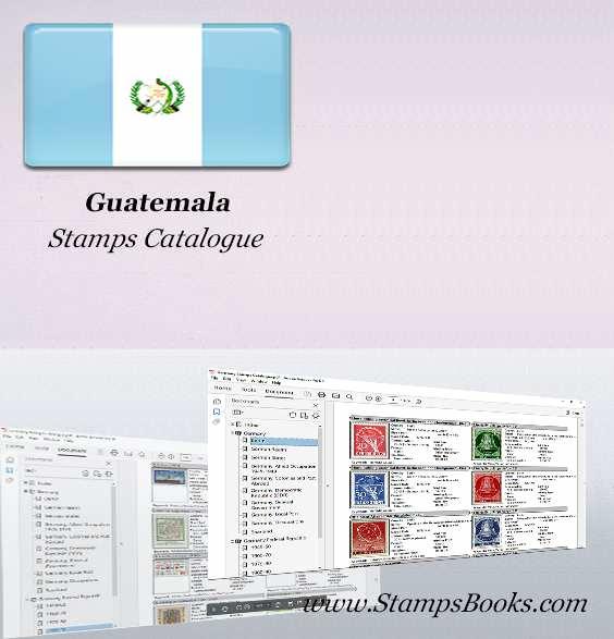 Guatemala Stamps Catalogue