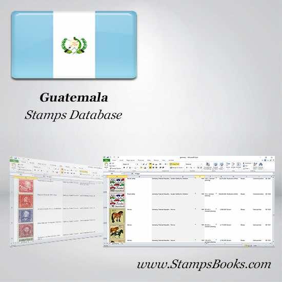 Guatemala Stamps dataBase
