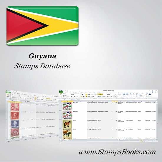 Guyana Stamps dataBase