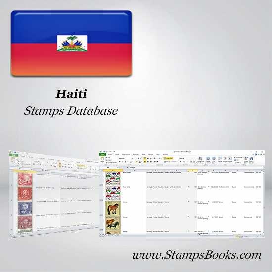 Haiti Stamps dataBase