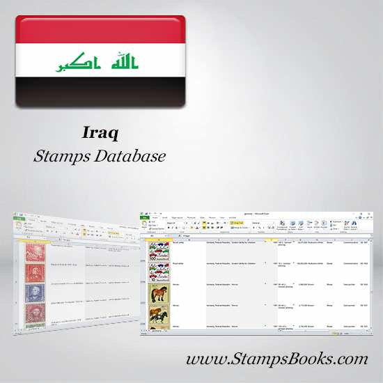 Iraq Stamps dataBase