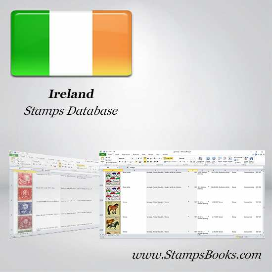 Ireland Stamps dataBase