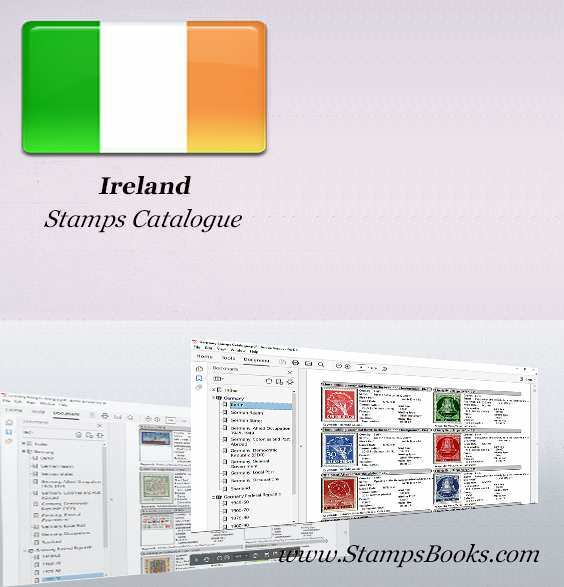 Ireland stamps Catalogue