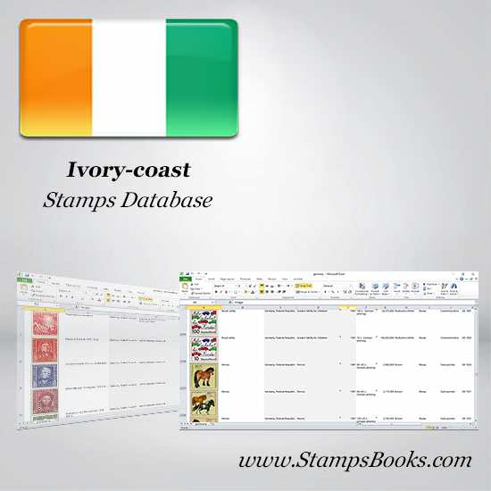 Ivory coast Stamps dataBase