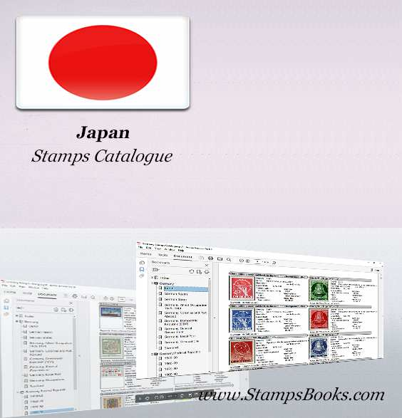 Japan Stamps Catalogue