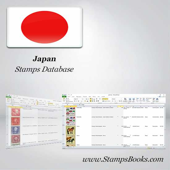 Japan Stamps dataBase