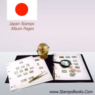 Japon album de timbres