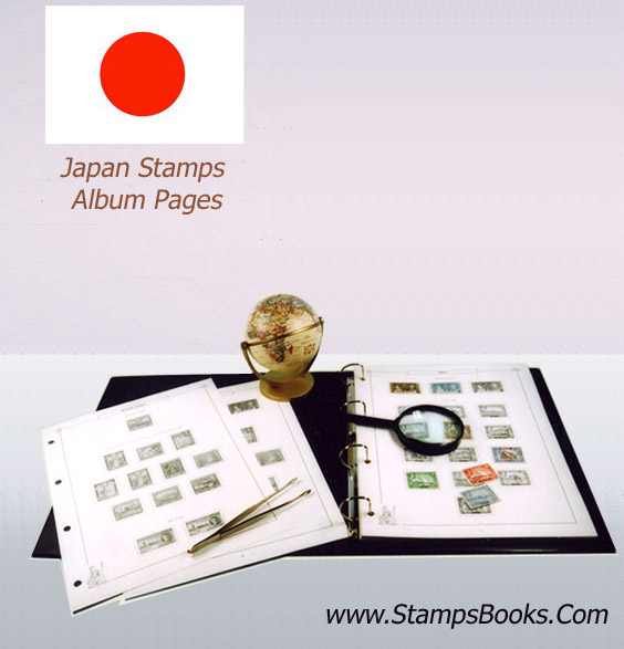 Japan stamps album