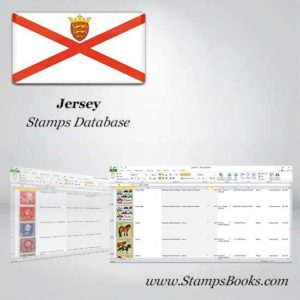 Jersey Stamps dataBase